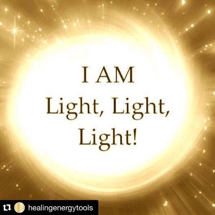 Be light feel light spread light!
