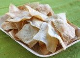 no need for tostitos--make your own tortilla chips!