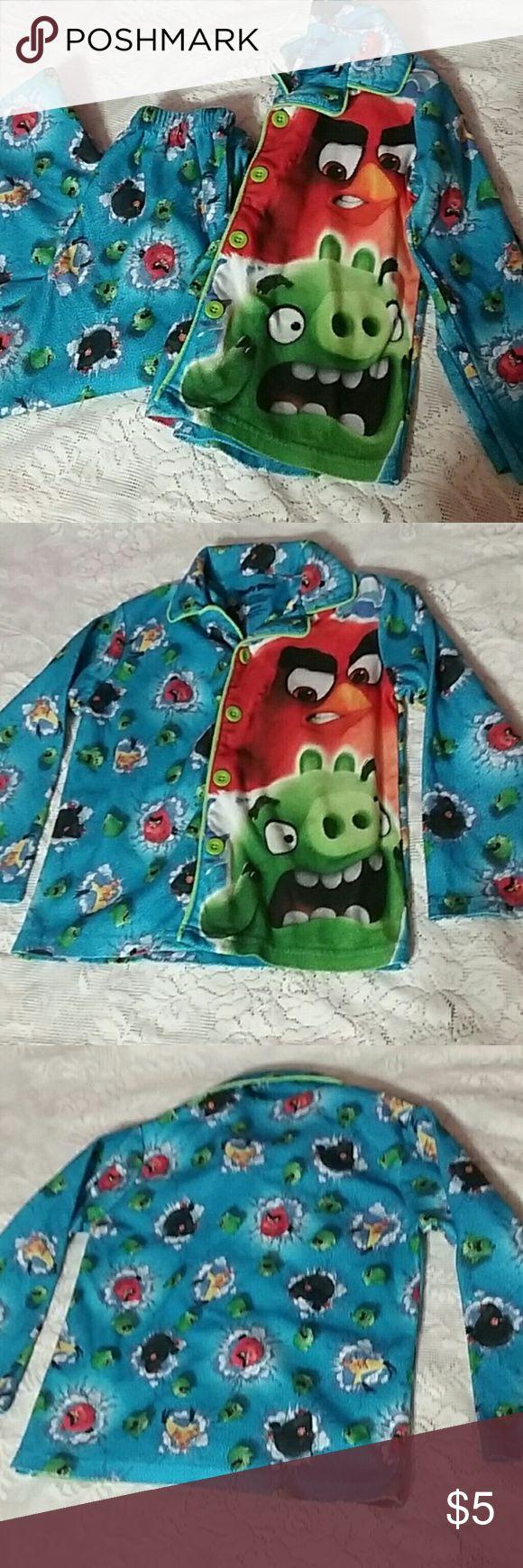 I just added this listing on Poshmark: Boys 4/5 xs Pajamas Angry Birds pjs Top Pants euc. #shopmycloset #poshmark #fashion #shopping #style #forsale #Angry Birds #Other