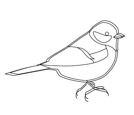 31 best Bird outlines images on Pinterest Drawings Bird