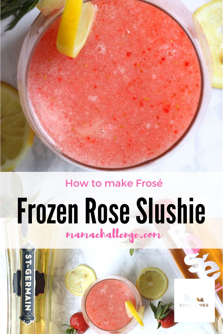 Counting down to summer in 3, 2, 1...One taste of this frosé (that's fancy for frozen rose slushie), you'll be ready to for the lazy days cooling off next to the pool or at least enjoy dreaming about it. @TotalWine #sponsored #TotalWine