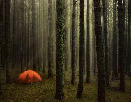 aduhai... berangan-angan di dalam tenda dengan dekapan seorang wanita di dalamnya wkwkwk
