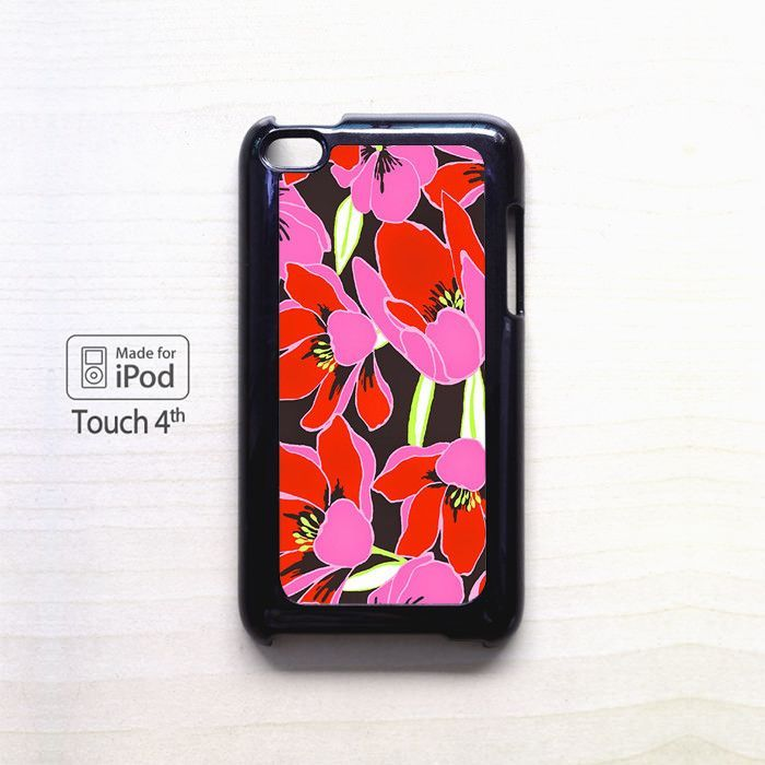 Flowers Vector for apple case iPod 4/iPod 5