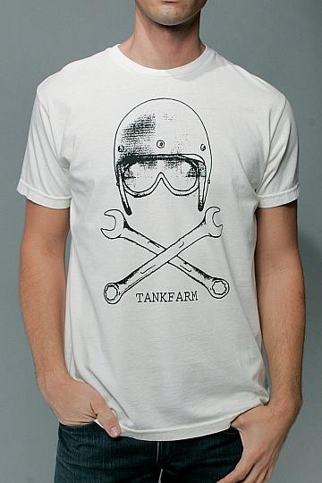 SKULL & WRENCH motorbike T-shirt