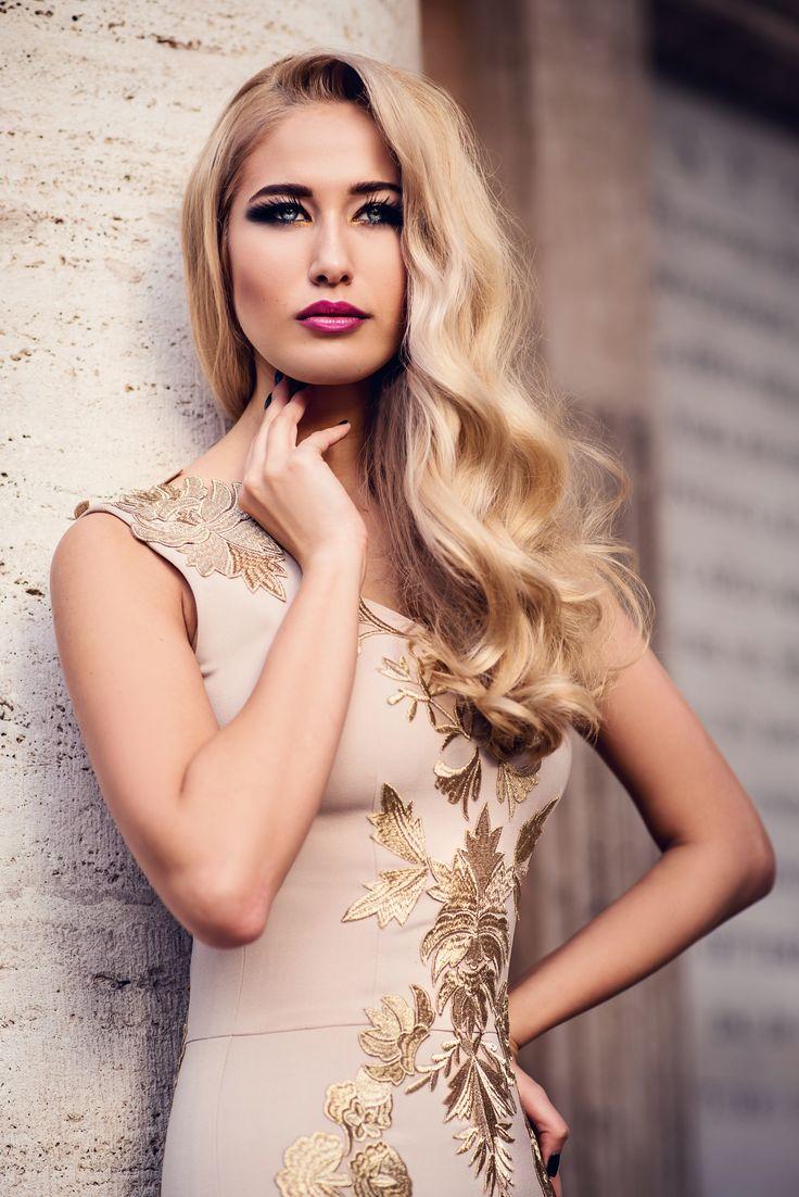 www.lucianavarga.com Dress: Atelier Ligia Mocan Hairstyle: Mihaela Vodnar Make-up artist: Bianca Giurgiuca Model: Andreea Prodan