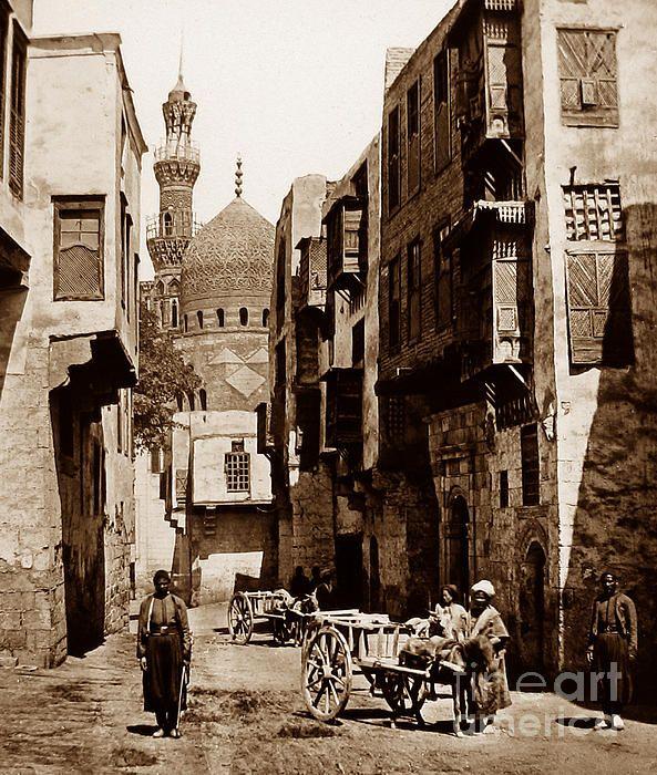 Street In Cairo Egypt  The Keasbury-Gordon Photograph
