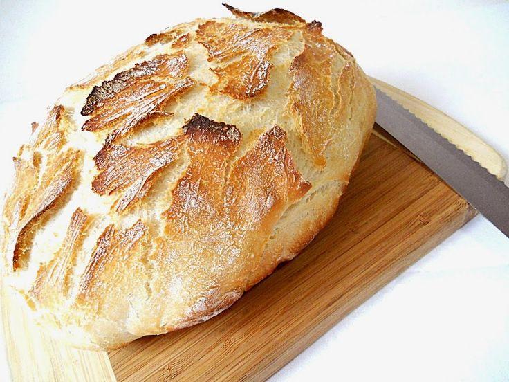 Pâine fără frământare ~ Bucate, vorbe şi arome