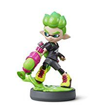 Nintendo Inkling Boy Neon Green amiibo - Splatoon