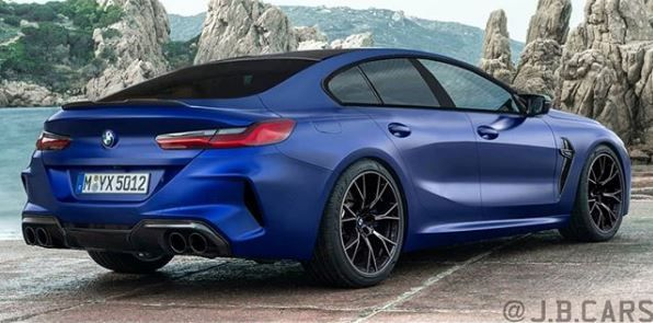 Bmw M8 Already Rendered In Gran Coupe Guise Bmw Gran Coupe Coupe