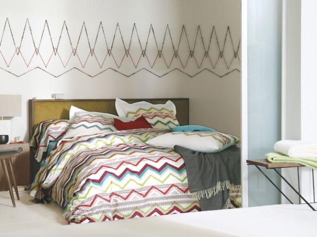 Idees deco chambre blanc des vosges  Chambre à coucher