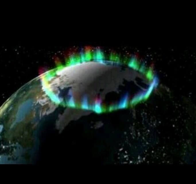 An amazing northern lights photo from space showing the ring around the earth where the aurora & Best 25+ Aurora borealis from space ideas on Pinterest | Northern ... azcodes.com