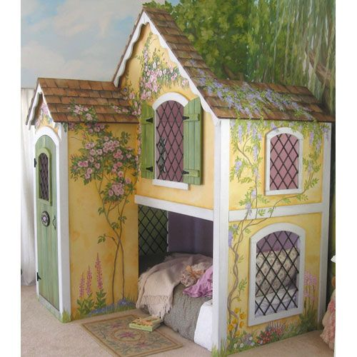 dollhouse+and+fairy+furniture+beds | Fairy Tale Bed