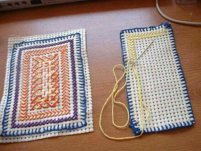 Sewing at school