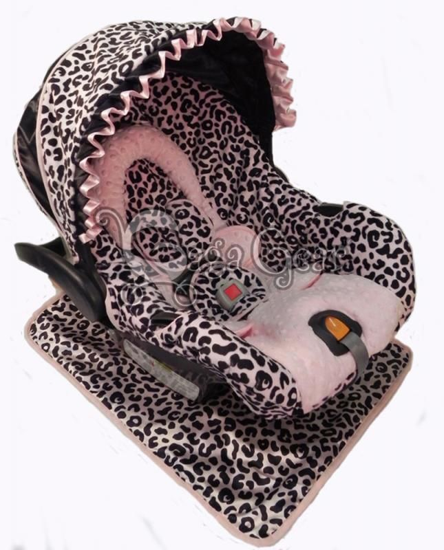 leopard print baby car seat covers home car seat covers girls baby ab 39 s stuff. Black Bedroom Furniture Sets. Home Design Ideas