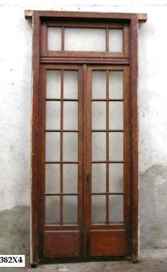 narrow french doors with transom - Google Search