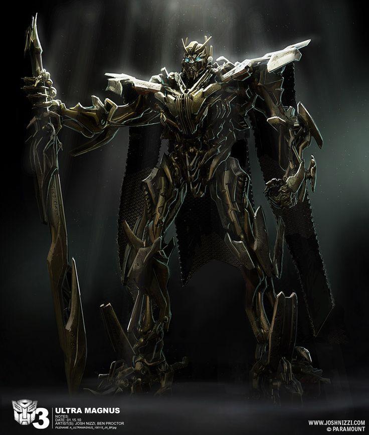 Ultra Magnus (Transformers); by Josh Nizzi
