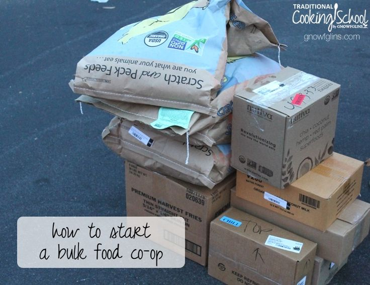 Individuals and families can harness the power of buying in bulk by joining with others to form a private buying club: a co-op. The age of internet commerce and communication makes buying even nutrient-dense foods, chemical-free personal care products, and non-irradiated spices easier than ever! | TraditionalCookingSchool.com