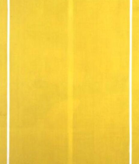 Yellow Painting   Artist:Barnett Newman  Completion Date: 1949