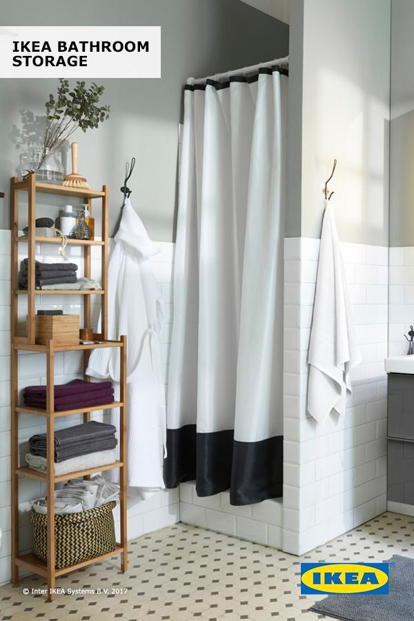 Get Your Bathroom Organized In Time For Spring With IKEA Bathroom Storage!  Find Everything You