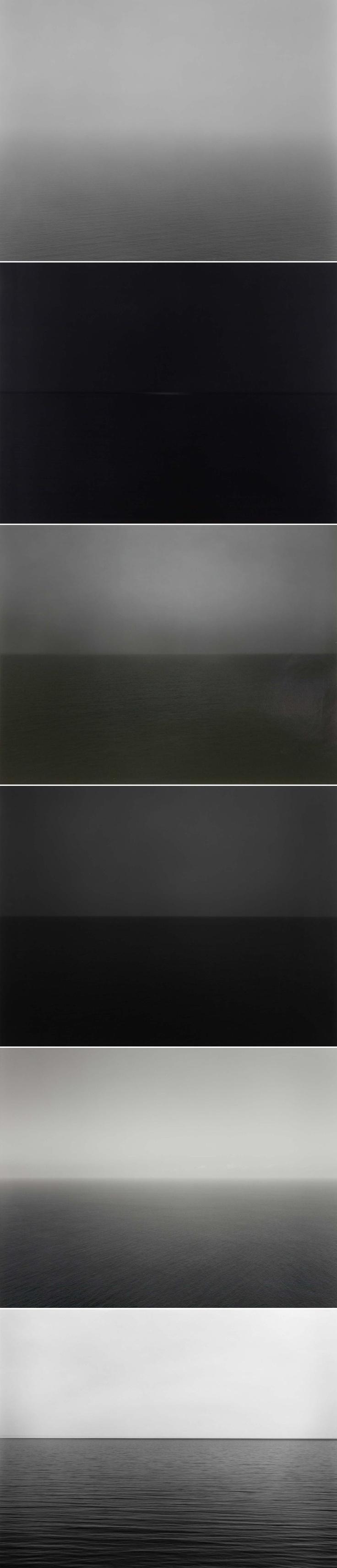 日本摄影大师 杉本博司 的《海景》系列