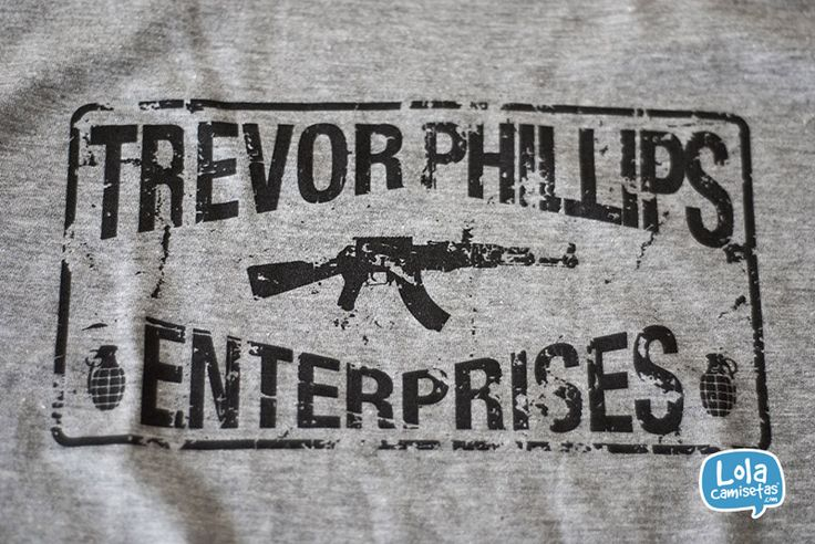 Trevor Phillips Enterprises #camiseta #tshirt #gtav