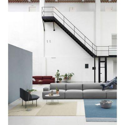 Restore oppbevaringskurv rund, grå – Muuto – Kjøp møbler online på Room21.no