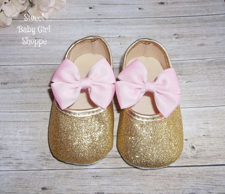 Pink and Gold First Birthday - Gold Baby Shoes - Pink and Gold First Birthday Outfit - Pink and Gold Tutu by SweetBabyGirlShoppe on Etsy https://www.etsy.com/listing/252219338/pink-and-gold-first-birthday-gold-baby