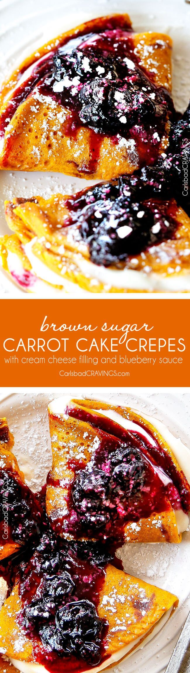 Easy Blender Brown Sugar Carrot Cake Crepes are my family's favorite crepes…