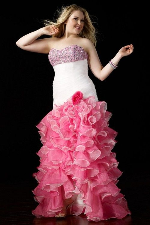 54 best Plus Size Prom Dresses images on Pinterest | Prom dresses ...