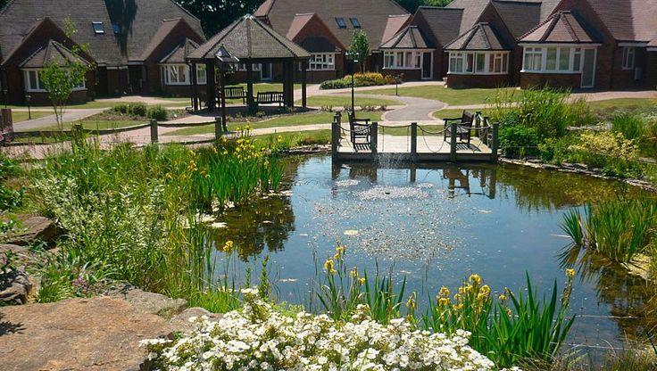 Formal and natural garden pond designs landscape garden for Pond shapes and design