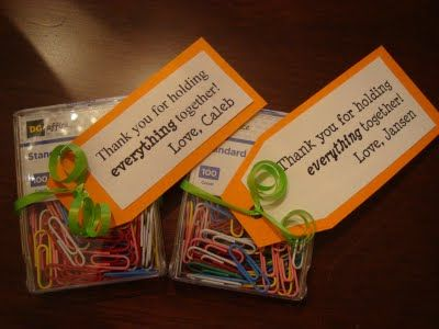 Teacher Appreciation Day- Thank you for holding everything together! Love,...