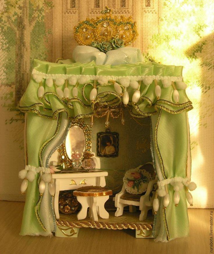 Создаем будуар императрицы в обычном будильнике - Ярмарка Мастеров - ручная работа, handmade