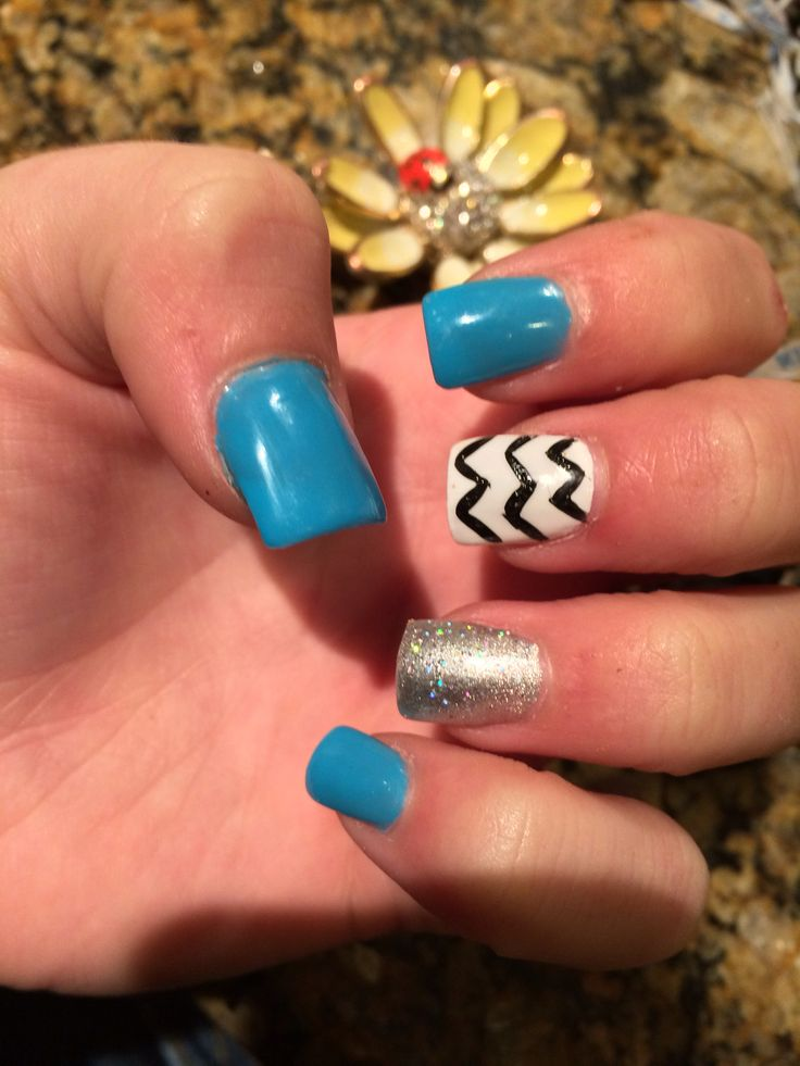 9 best nails images on pinterest beauty full girly stuff and fresh nails cute chevron sparkly blue acrylic summer winter holiday nails pretty cutest prinsesfo Gallery