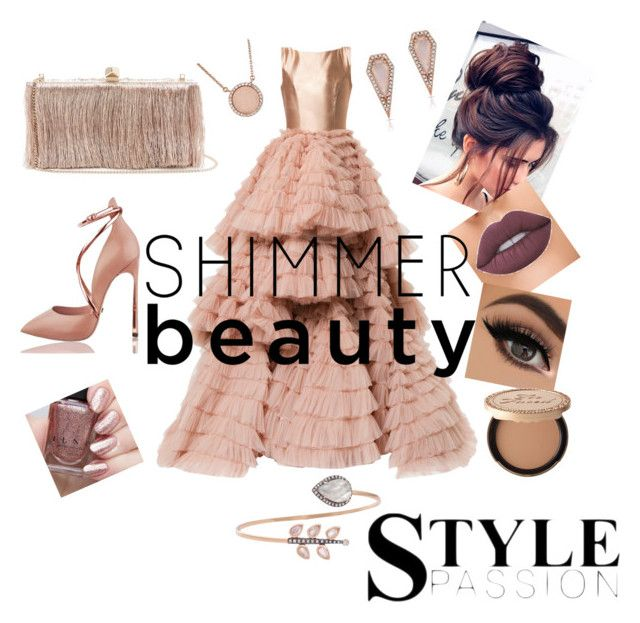 Untitled #11 by nony4-5n on Polyvore featuring polyvore fashion style Isabel Sanchis Jimmy Choo Misahara Anne Sisteron Michael Kors Too Faced Cosmetics clothing