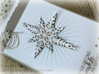 Caring for Stamps: Aftellen naar de Herfst/Winter Catalogus 10: Stampin' Up! ~ Starlight Thinlits Dies Carmen Morris - YouTube https://www.youtube.com/watch?v=XrcOXVIQNcM