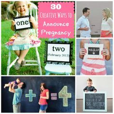 creative baby announcement ideas - Google Search
