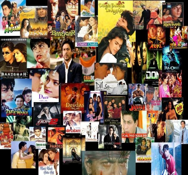 #asoka,#baazigar,#bollywood,#women's hockey team,#Chak de inda,#dil se,#Dilwale dulhaniya le jayenge,#don,#india,#kajol,#karan johar,#mani ratnam,#kuch kuch hota hain,#My name is Khan,#om shati om,#paheli,#shahrukh khan,#top 10 shahrukh khan movie shahrukh khan's movie posters collage
