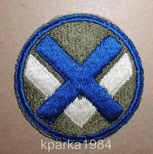 WW2 ERA US ARMY FIFTEENTH (XV) CORPS INSIGNIA PATCH
