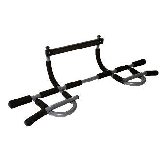 iron gym pull up bar instructions