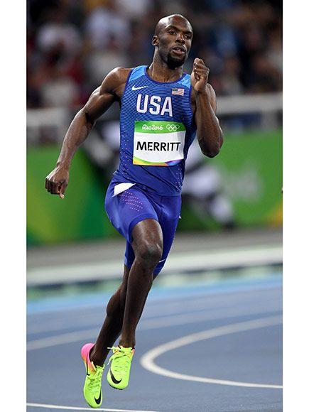The Comeback Kid! LaShawn Merritt Scores Bronze in 400-Meter Race at the Rio…
