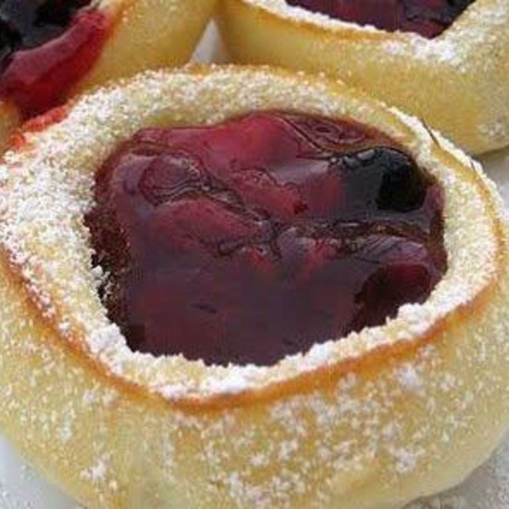 Mini German Pancakes made in muffin tins.