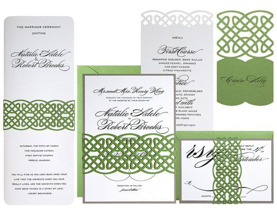 Hey, I found this really awesome Etsy listing at https://www.etsy.com/listing/218177643/celtic-knot-wedding-invitations-clover