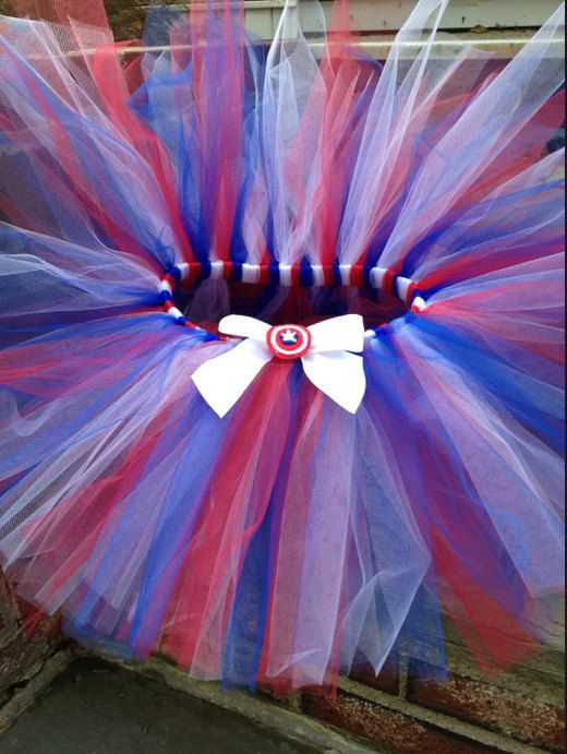 Captain America TuTu Perfect for your by TutusToTheRescue on Etsy