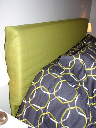 Sewing for the Home ~ Super Easy Upholstered Headboard « Sew,Mama,Sew! Blog
