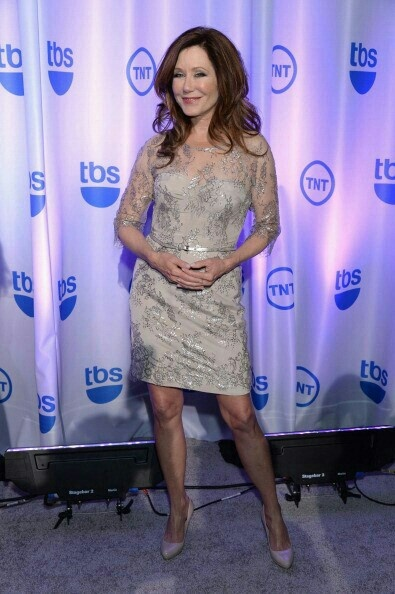 Mary McDonnell at the 2013 TNT Upfronts 05/15/13 - image from MajorCrimestv.net