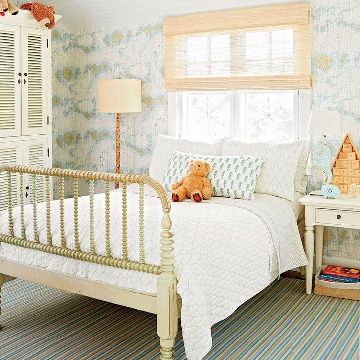 Boy's Map Bedroom