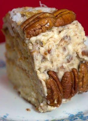 Orange Italian Cream Cake - Southern Living