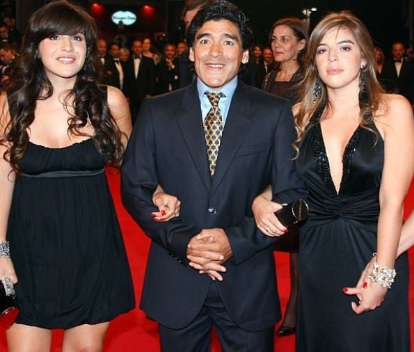 Football legend Diego Maradona has accused his two daughters of stealing 3.4million from him and has called for one of them to be jailed. He also accused his ex-wife of being involved in the alleged theft alleging they stashed some of the money in Uruguay. He is suing ex-wife Claudia Villafane and daughters Dalma and Giannina. . The former Barcelona player says his family transferred stolen cash to a bank account in Uruguay and also used his money to buy up property in the USADaily Mail…