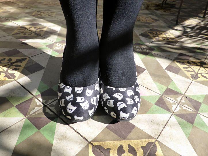 T.U.K Kitty Face Shoes | www.thesmallworld.com.au