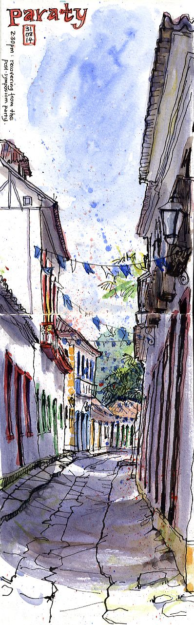 An Illustrator's Life For Me!: 5th Urban Sketchers Symposium in Paraty
